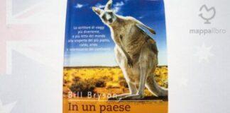 """Copertina del libro """"in un paese bruciato dal sole"""" di Bill bryson"""
