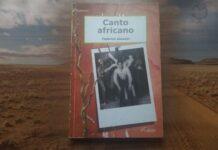 """Copertina del libro """"Canto Africano"""" di Federica Gazzani"""