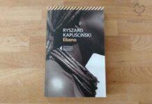 "Copertina del libro ""Ebano"" di Ryszard Kapuscinski"