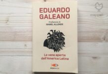 """Copertina del libro """"Le vene aperte dell'America Latina"""" di Eduardo Galeano e G. Lapasini"""