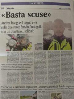 Articolo di giornale