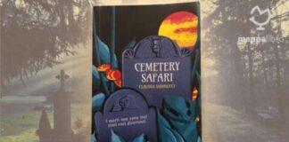 """Copertina del libro """"Cemetery Safari"""" di Claudia Vannucci"""