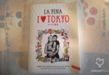 """Copertina del libro """"I Love Tokyo"""" di La Pina"""