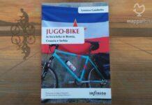 """Copertina del libro """"JUGO-BIKE In bicicletta in Bosnia, Croazia e Serbia"""" di Lorenzo Gambetta"""