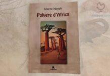 """Copertina del libro """"Polvere d'Africa"""" di Marco Novati"""