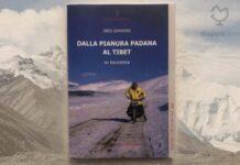 """Copertina del libro """"Dalla Pianura Padana al Tibet in bicicletta"""" di Obes Grandini"""