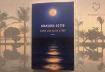 """Copertina del libro """"Come una notte a Bali"""" di Gianluca Gotto"""