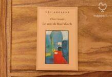 """Copertina del libro """"Le voci di Marrakech"""" di Elias Canetti"""