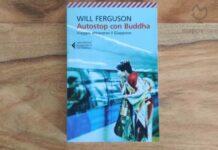 """Copertina del libro """"Autostop con Buddha. Viaggio attraverso il Giappone"""" di Will Ferguson"""