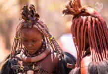 Una ragazza Himba, foto realizzata da difotoediviaggi.it