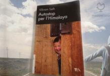 """Copertina del libro """"Autostop per l'Himalaya"""" di Vikram Seth"""