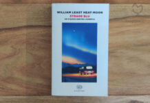 """Copertina del libro """"Strade Blu"""" di William Least Heat-Moon"""