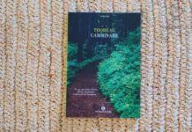 """Copertina del libro """"Camminare"""" di Henry David Thoreau"""