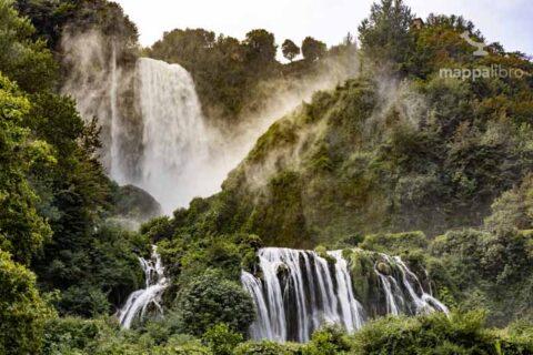 La cascata delle Marmore in tutta la sua dirompente eleganza