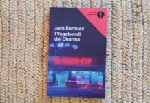 """Copertina del libro """"I VAGABONDI DEL DHARMA"""" di di Jack Kerouac"""