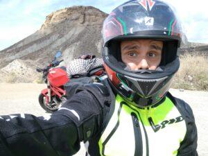 Andrea, verso il deserto spagnolo!