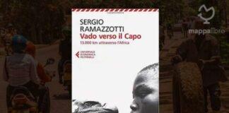 """Copertina del libro """"Vado verso il Capo. 13.000 km attraverso l'Africa"""" di Sergio Ramazzotti"""