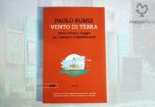 """Copertina del libro """"Vento di terra. Istria e Fiume: viaggio tra i Balcani e il Mediterraneo"""" di Paolo Rumiz"""