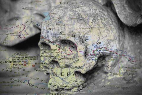 Lago degli scheletri