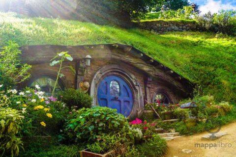Una tipica abitazione Hobbit