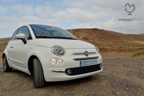 Fiat 500 noleggiata a Lanzarote
