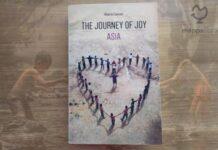 """Copertina del libro """"The Journey of Joy - Asia"""" di Alberto Cancian"""